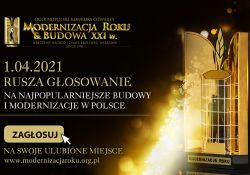 Baner konkursu Modernizacja Roku i Budowa XXI w.