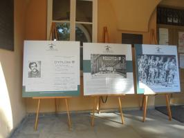 Wystawa na temat patrona i historii Biegu im. B. Malinowskiego